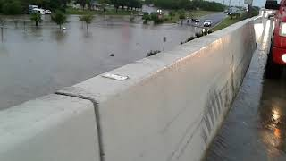 FLOODS IN SOUTH TEXAS PEOPLE IN THE WATER (MERCEDES) 6-20-2018