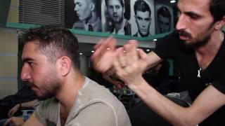 asmr turkish barber face head and back massage 8