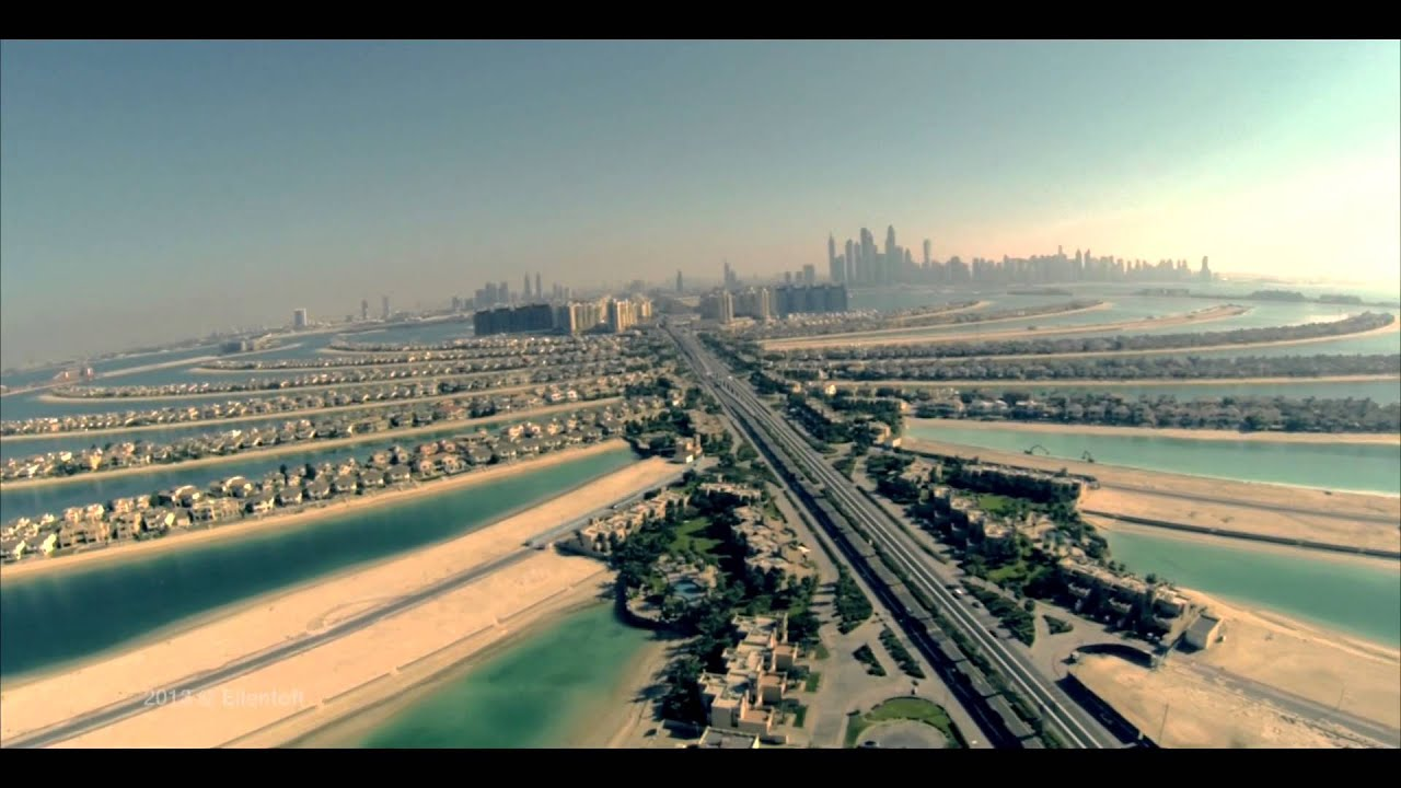 DJI Phantom Video Contest - Palm Jumeirah, Dubai - YouTube