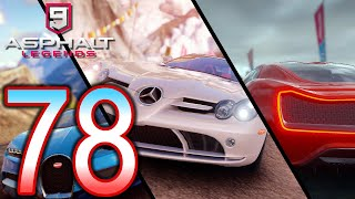 ASPHALT 9 Legends Switch Walkthrough - Part 78 - Ch5 Class S Master, American Autos, Ch3 SLR McLaren