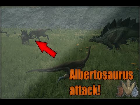 ALBERTOSAURUS ATTACK! The Isle Realism #2 (Herb)