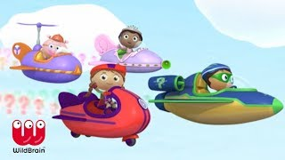 Super Why Full Episodes | Story Time - Defeat the Giant | Learning for Kids