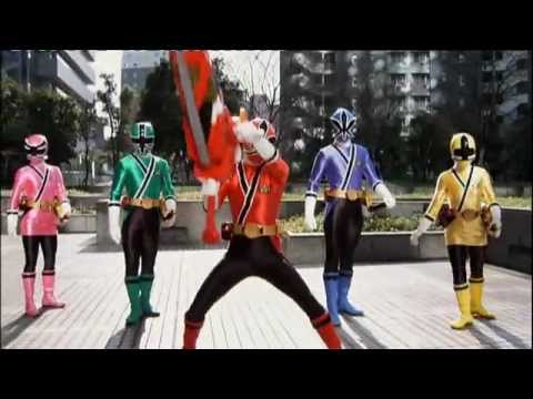 Power Rangers Samurai - Nickelodeon Trailer GERMAN