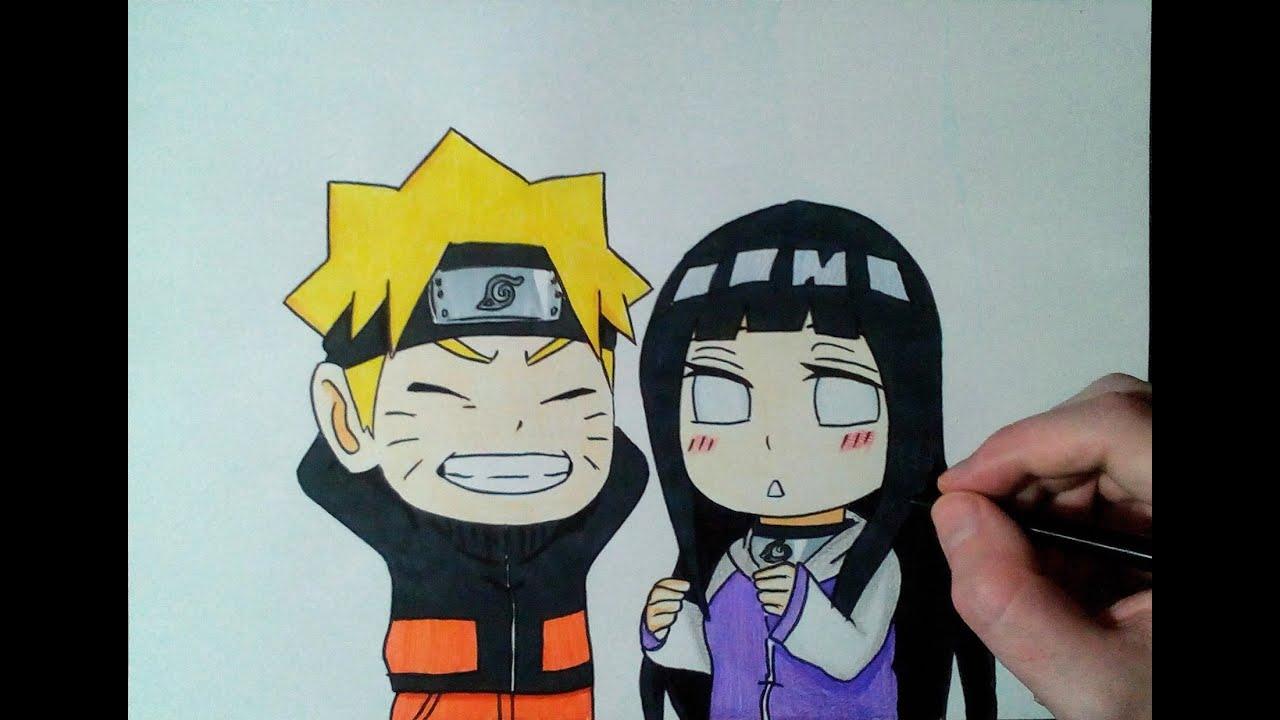 Speed drawing chibi naruto and hinata youtube - Naruto chibi images ...