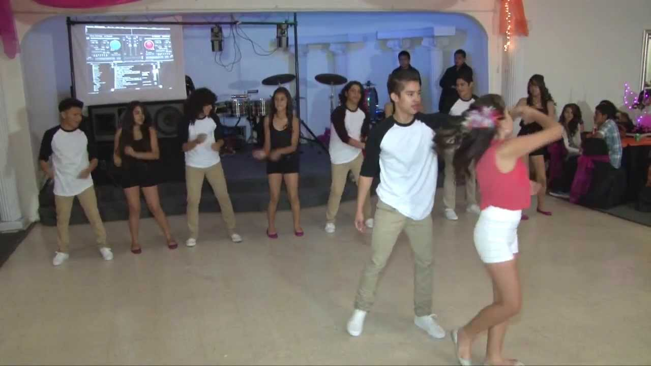 Quinceanera Surprise Dance Candyman Youtube