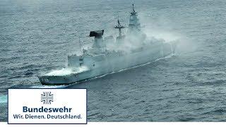 Deutsche Fregatte vor Amerika – Bundeswehr