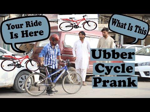 Uber Driver Prank Cycle Edition | Pranks In Pakistan | Humanitarians | 2019