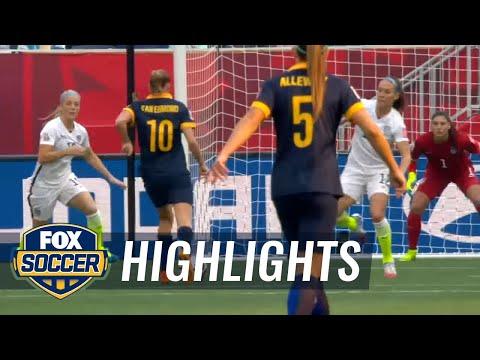 USA vs. Australia - FIFA Women