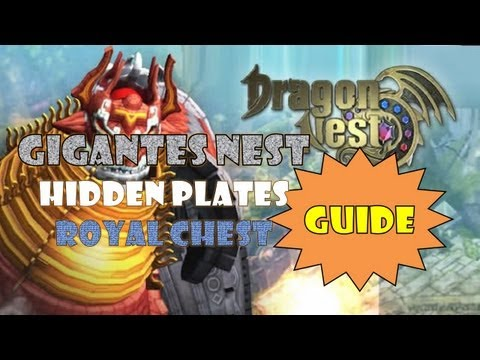 Dragon Nest SEA - Gigantes Nest Guide; Hidden Plates; Royal Chest~!
