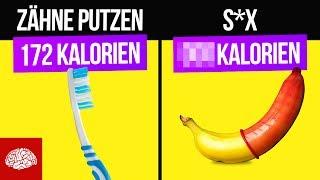 Wie viele Kalorien verbrennen wir im Alltag?