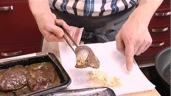 Karitsan paahtopaistia ja juureksia