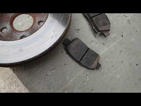 Биение тормозного диска.  TOYOTA OPA.  Каменск-Уральский. Тормозные диски на тойота.