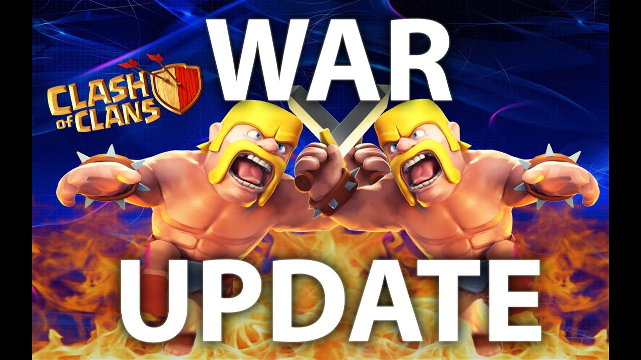 Clash of Clans Clan War Matchmaking Improvements