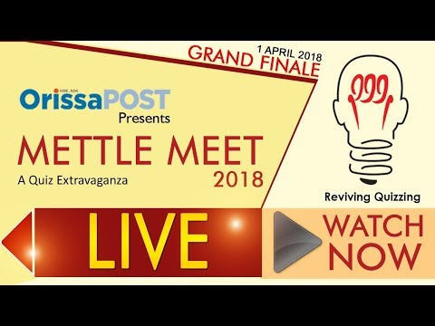 Mettle Meet 2018 Grand Finale Senior Category - LIVE Now