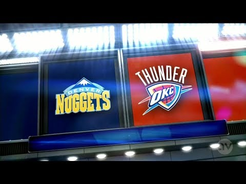 Denver Nuggets Vs Oklahoma City Thunder NBA LIVE STREAMING SCORE 1/2/2018