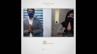 Three Years of Inspiration - Conrad Bengaluru's Anniversary