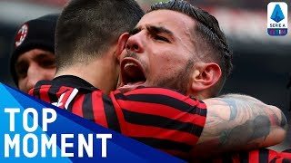 Theo Hernandez's Sensational Volley Puts Milan Ahead! | Milan 3-2 Udinese | Top Moment | Serie A TIM
