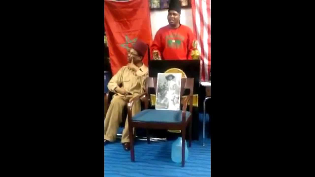 Grand Sheik Lord Justice Bey THE BIG HEAD SCIENTIST MOORISH-AMERICAN