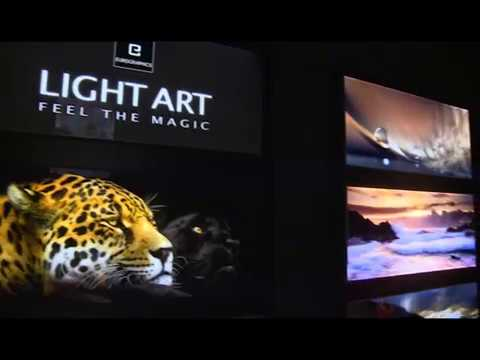 eurographics light art youtube. Black Bedroom Furniture Sets. Home Design Ideas