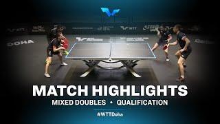 Assar/Helmy vs Shibaev/Mikhailova | WTT Contender Doha 2021 | XD | R32 Highlights