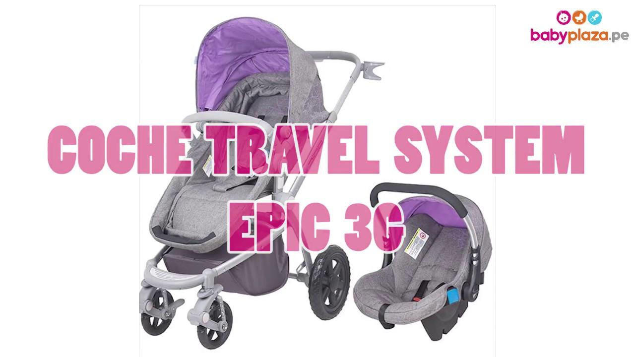 036157f71 Coche para Bebés Travel System Epic 3G- Infanti   BabyPlaza. Baby Plaza