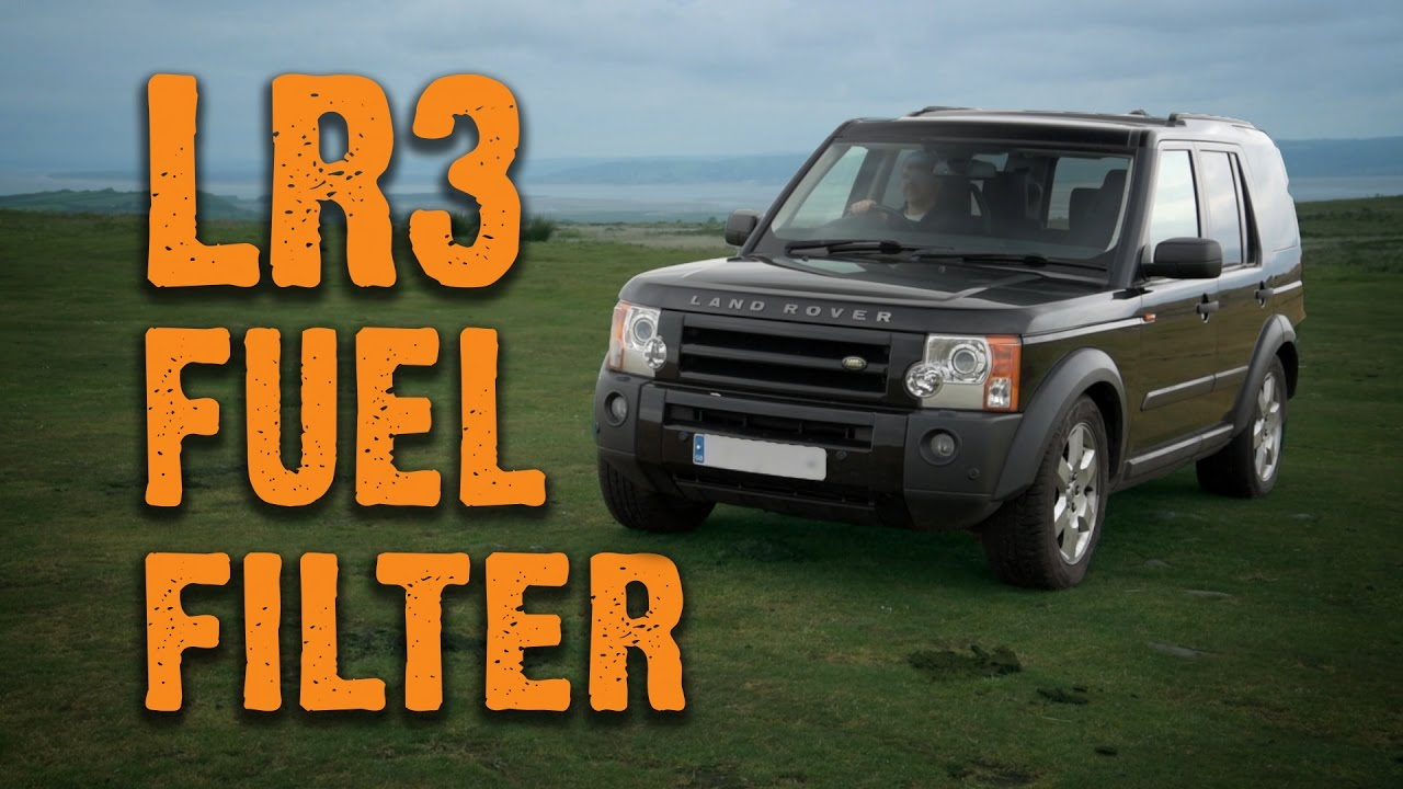 hight resolution of changing the fuel filter land rover discovery 3 tdv6