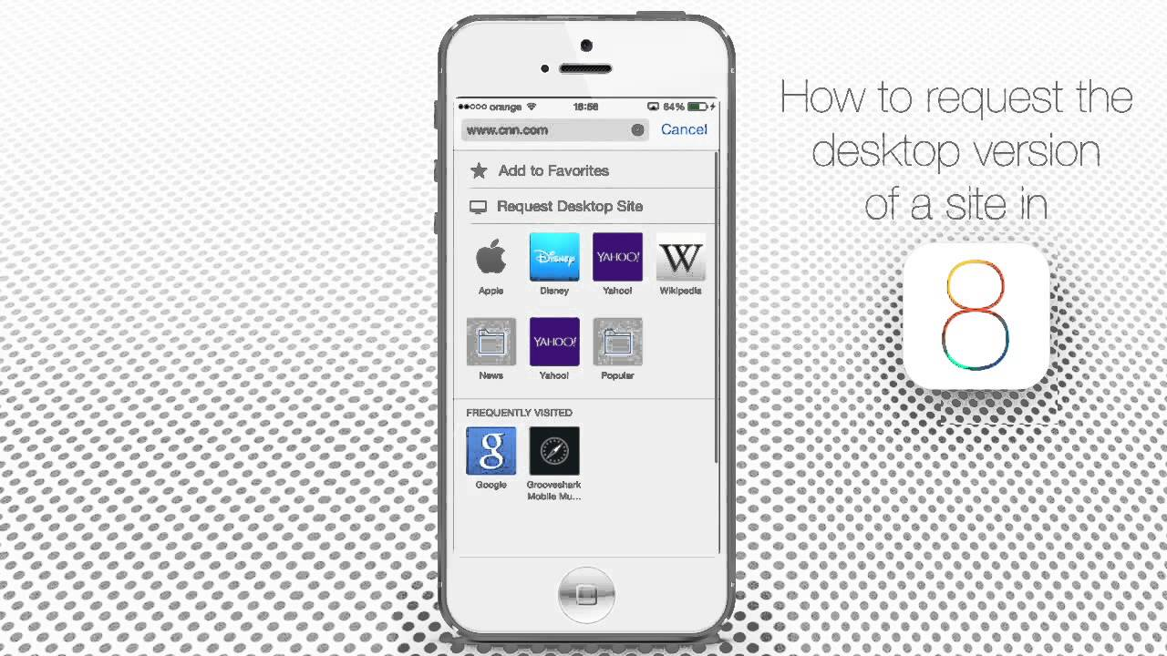 How to Request Desktop Version of a Website in Safari on