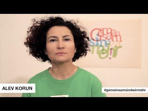 #GemeinsamSindWirMehr sagt Alev Korun! || #Antirassismus #Zivilcourage