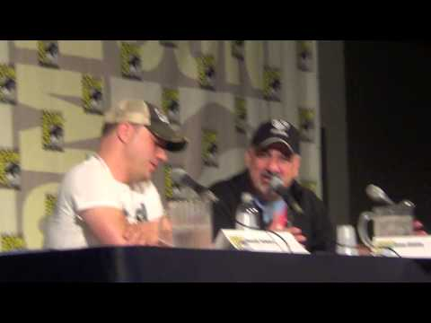 Geoff Johns 1 on 1 panel at San Diego Comic-con 2015