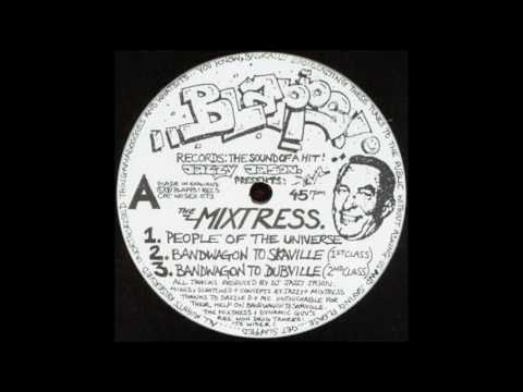 Jazzy Jason Presents The Mixtress - People Of The Universe