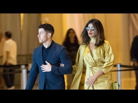 Nick Jonas And Priyanka Chopra Spotted Holding Hands At His Cousin's Wedding