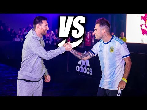 LEO MESSI vs DELANTERO09