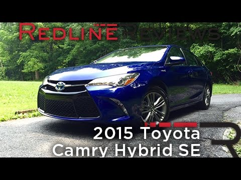 2015 toyota camry hybrid se redline review youtube. Black Bedroom Furniture Sets. Home Design Ideas