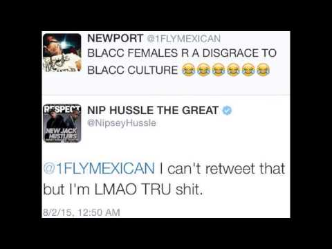 Nipsey Hussle says black women are a disgrace to black culture! #nipseyhussle #LaurenLondon