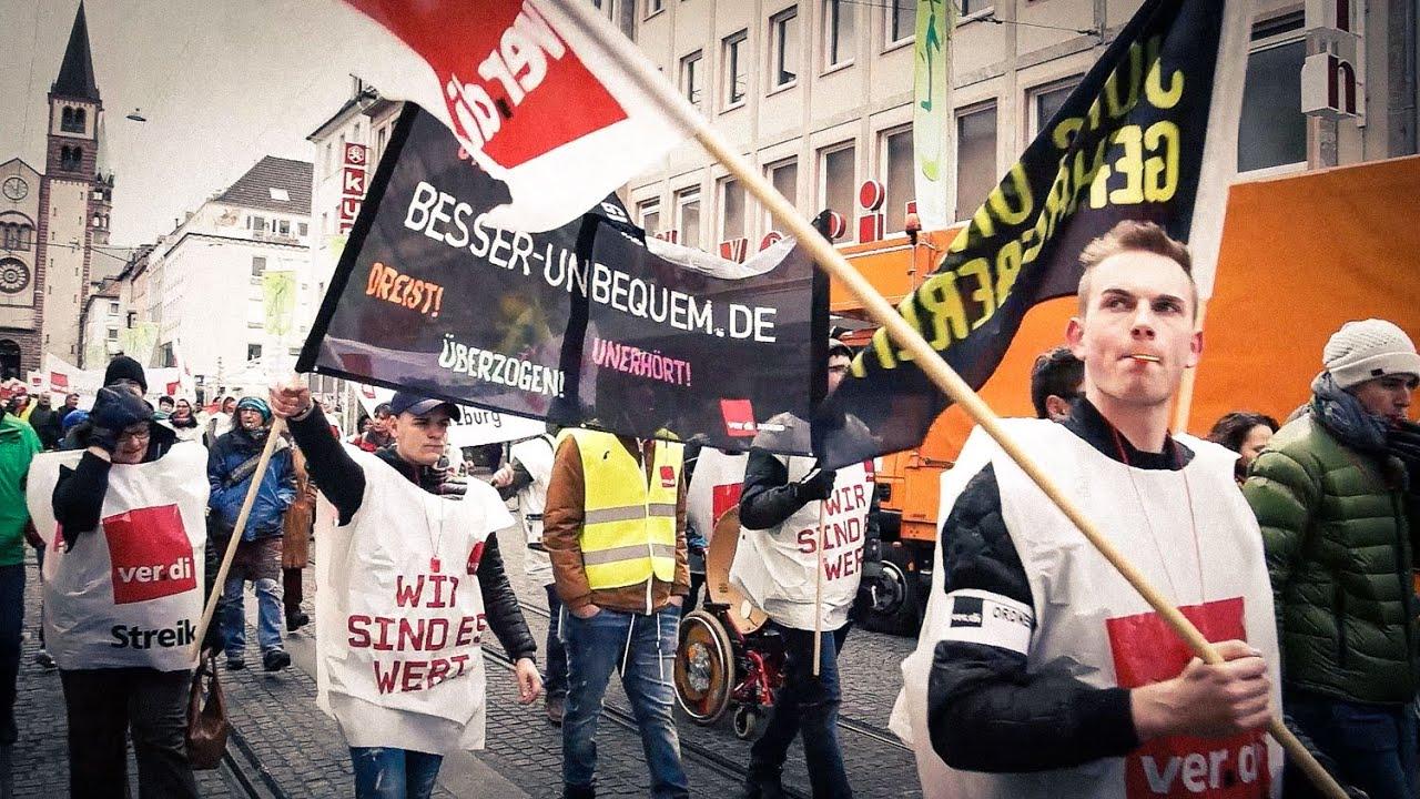 streik öffentlicher dienst verdi