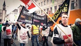 Verdi Streik Öffentlicher Dienst April 2016