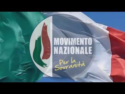 Intervento di Gianni Alemanno al Congresso di Fondazione del Movimento Nazionale per la Sovranità