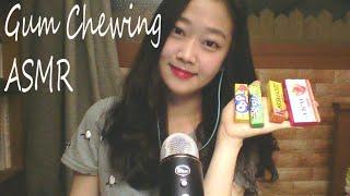 [ASMR]껌츄잉츄잉Gum Chewing (잡담 Ramble + 단어반복 Trigger words)