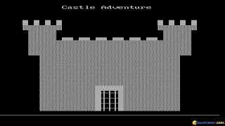 Castle Adventure gameplay (PC Game, 1984)