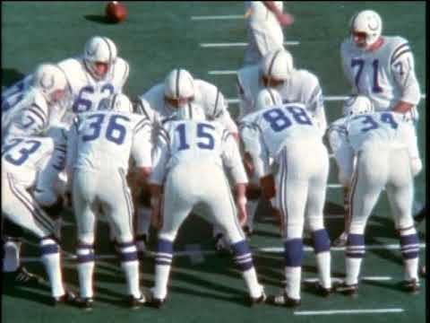 On this day in 1971, the Colts and Cowboys combined for 11 turnovers in Super Bowl V- a game sometimes referred to as the Blunder Bowl