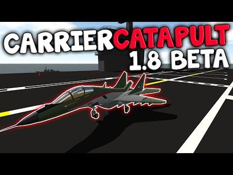 USS Beast Carrier Catapult!  -  1.8 Beta  -  Simple Planes