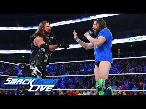 AJ Styles and Daniel Bryan refuse to wait for WWE Crown Jewel: SmackDown LIVE, Oct. 30, 2018