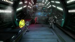 Star Wars The Clone Wars: Republic Heroes gameplay video 6 E3 2009 LucasArts