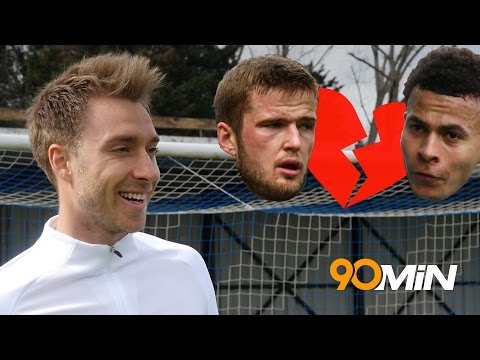 Christian Eriksen previews the North London Derby! | Would Dele Alli cheat on Eric Dier?!