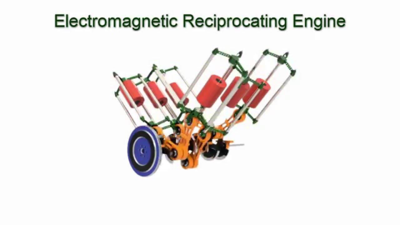 Electromagnetic Reciprocating Engine