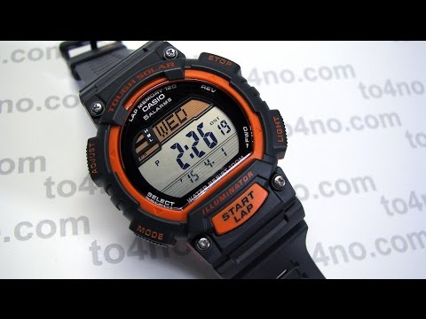 "Casio STL-S100H-4AVCF ""Tough Solar"" Fitness Watch"