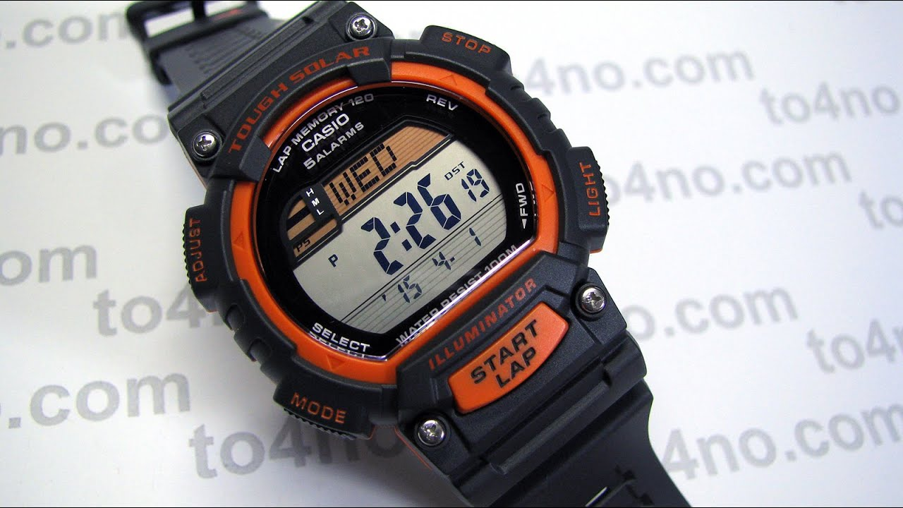 Casio Stl S100h 4avcf Quot Tough Solar Quot Fitness Watch Youtube