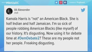 Bots troll Kamala Harris after the second Democratic debate