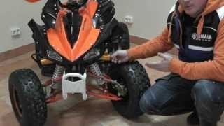 Видео обзор квадроцикла Comman ATV 125cc Panthera
