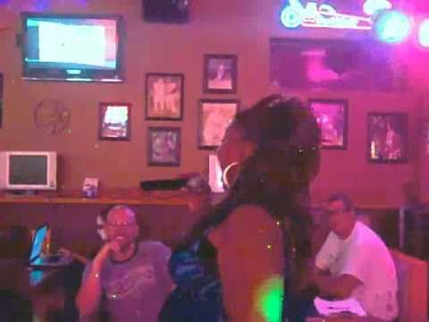 AZ Karaoke Alliance State Champion, Tasha, with one of her performances.